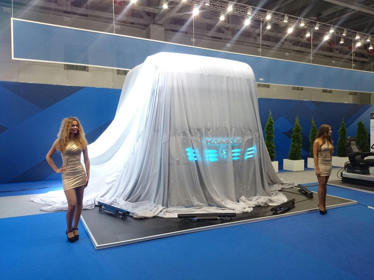 КамАЗ представил кабину «Трансформер»