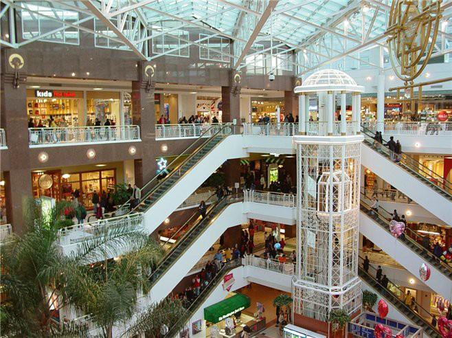 Категории посетителей торговых центров