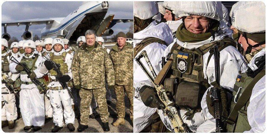 """""""Нацизма на Украине нет"""": Порошенко сфотографировался с солдатом с эмблемой дивизии СС на груди - фото"""