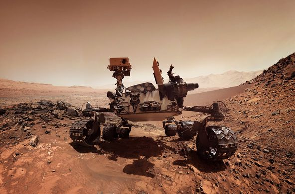 Curiosity прислал первые фотографии после шторма на Марсе