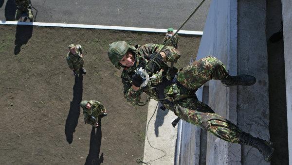 Военный спецназ России отмечает 65-ю годовщину