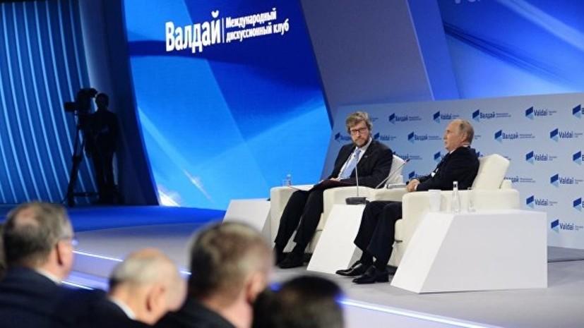 Путин рассказал об ответственном поведении американских военных