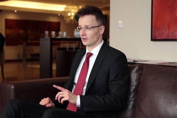 Глава венгерского МИД внесён…
