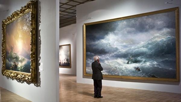 Выставка работ Ивана Айвазовского откроется всентябре вЕреване