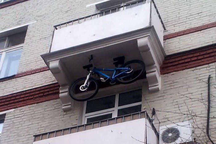 7. Здесь что-то не так балкон, дизайн, креатив