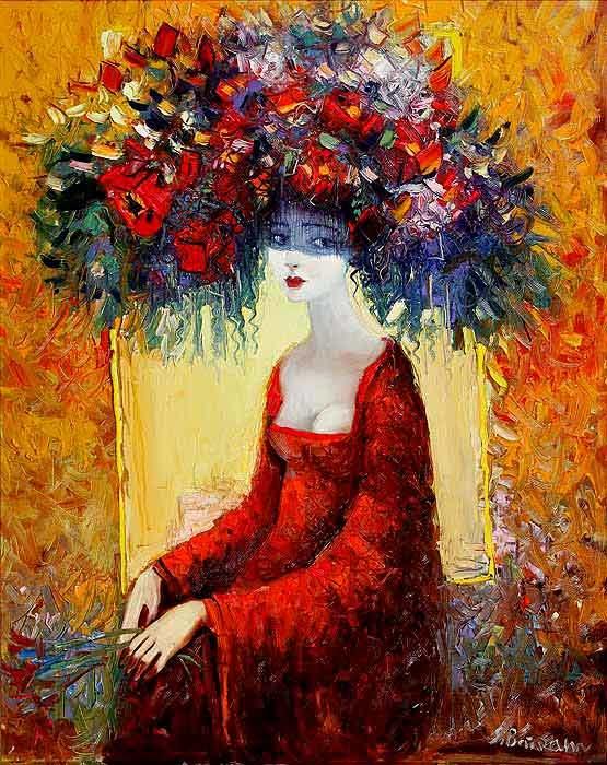 Буйство красок на картинах Байрама Саламова
