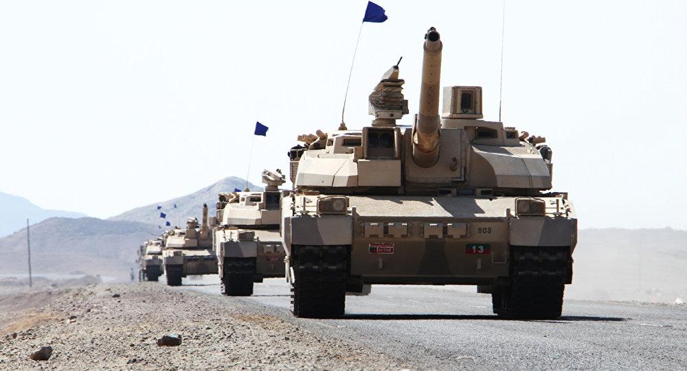 Французские танки Leclerc в Йеменской войне