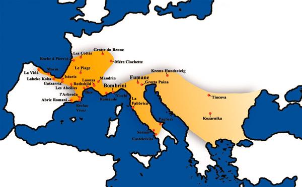 Уточненные (совсем свежие) данные генетиков о заселении людьми современного типа Европы и Русской Равнины ...