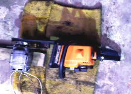 Генератор из бензопилы и двигателя от стиральной машины