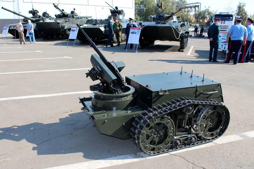 Русские военные роботы видео