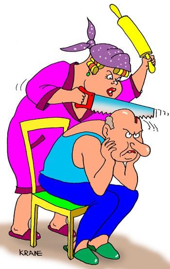 Муж и жена — приколы, анекдоты....