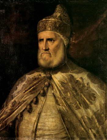 Тициан. Венецианский дож Андреа Гритти