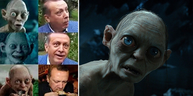 Турецкие эксперты проверят Голлума по делу об оскорблении Эрдогана