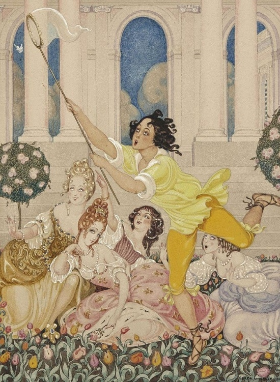 художник Герда Вегенер (Gerda Wegener) картины – 19