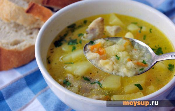Суп затирка рецепт с фото