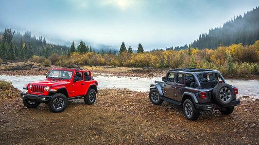 Новый Jeep Wrangler: найди десять отличий