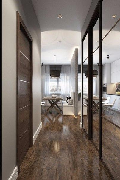 Однокомнатная квартира 32 кв.м дизайн