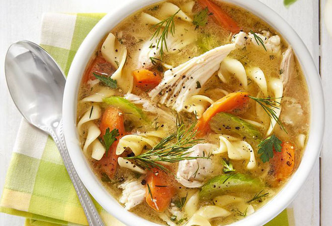 Куриный суп: лучшие рецепты