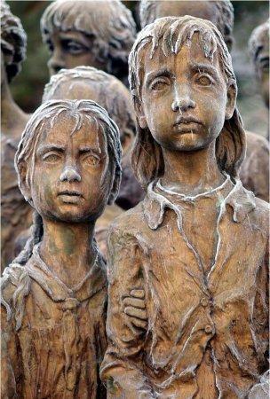 Ужасы войны. Дети городка Лидице.