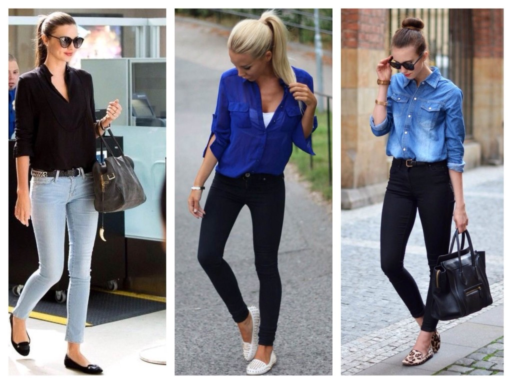 какой обувью носить узкие джинсы поздравления