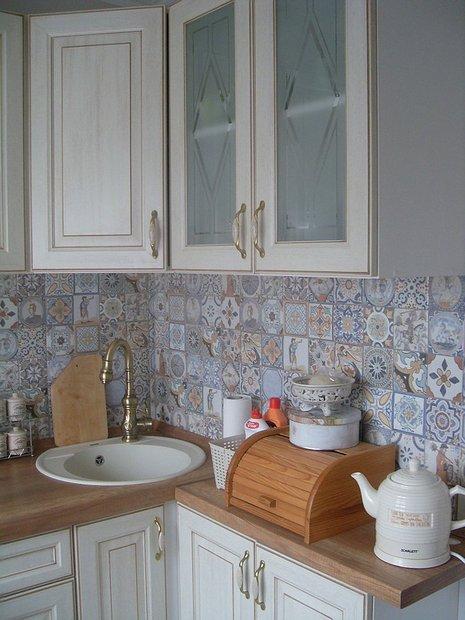 Дизайн кухни 10 метров в стиле прованс
