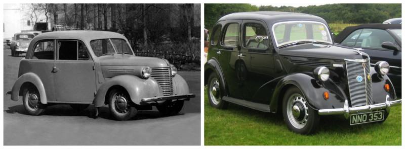 КИМ-10(1940-1941)-Ford Prefect(1938-1949) автомобили, история, ссср, факты