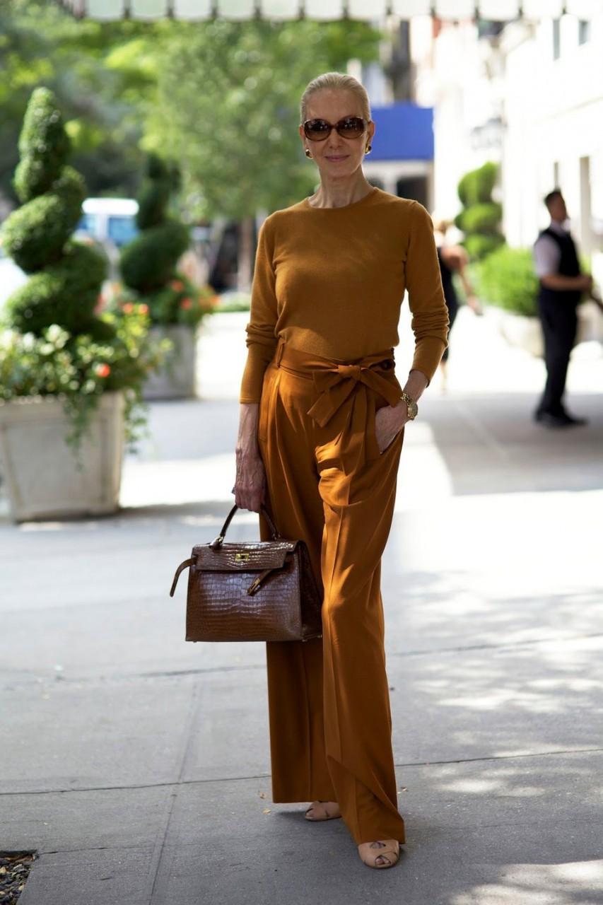 Мода для женщин элегантного возраста 9 фотография