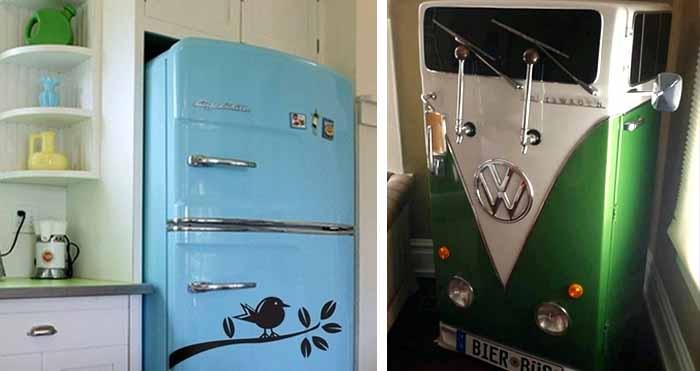 Покрасить холодильник домашних условиях фото