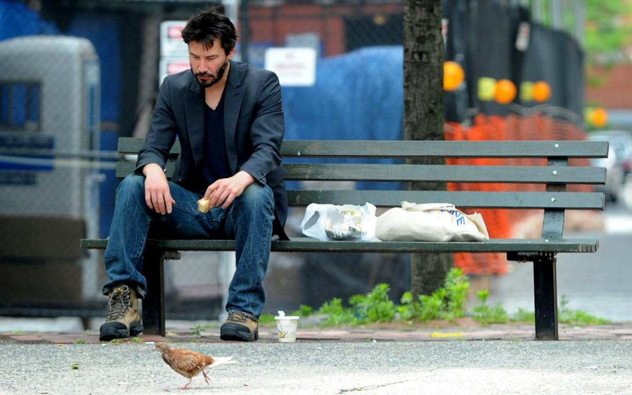 2. Киану и бездомный актер, голливуд, история, киану ривз