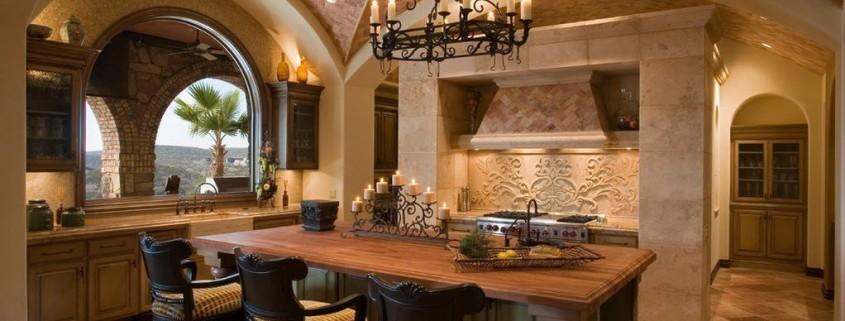 Кухни с аркой – практичная элегантность