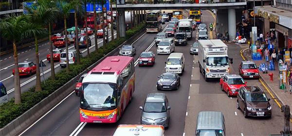 В Москве для борьбы с пробками используют опыт Гонконга