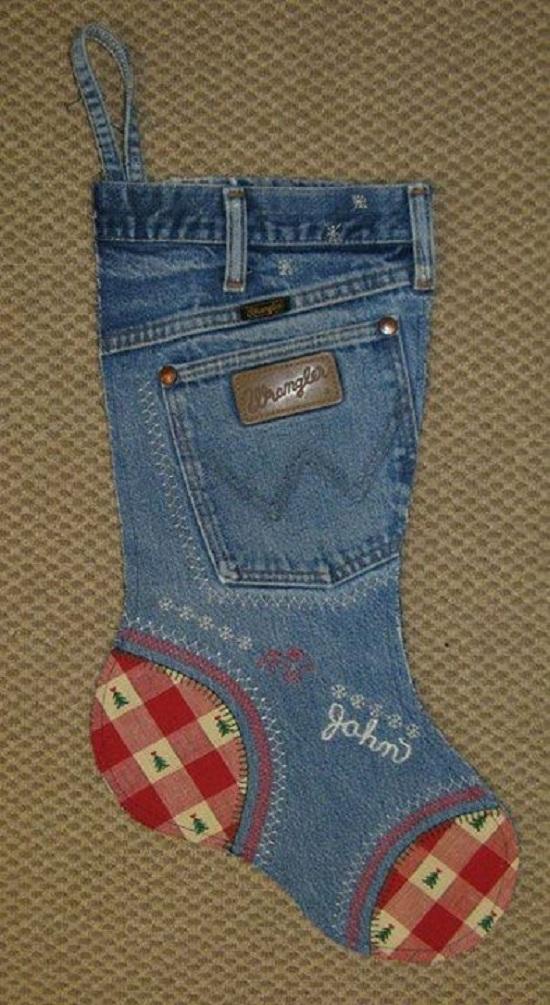 11 стильных вещиц, которые можно сделать из старых джинсов. Любителям хендмейда посвящается…