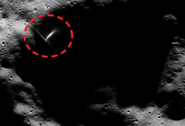 Луна уже давно занята инопланетянами