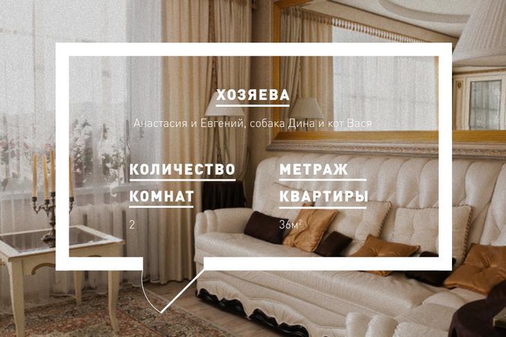 Двухкомнатная квартира в стиле «бархатная классика»
