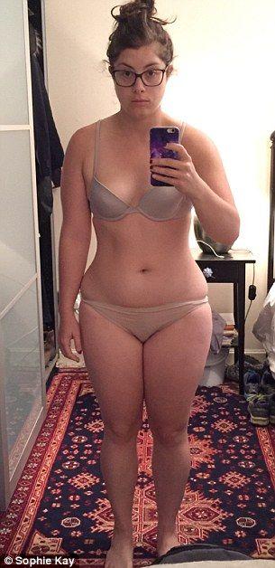 """Девушка разоблачила фитнес-фотографии """"до и после"""", """"похудев"""" всего за 2 минуты"""