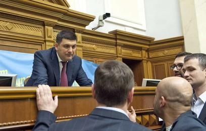 Верховная Рада назначила Гройсмана премьером