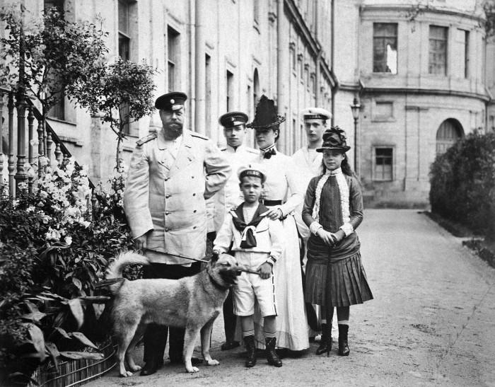 Император Александр III с семьей в Собственном садике Большого Гатчинского дворца история, факты