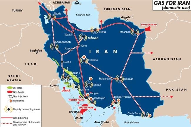В Индии говорят о возовновлении проекта газопровода из Ирана в Пакистан и Индию