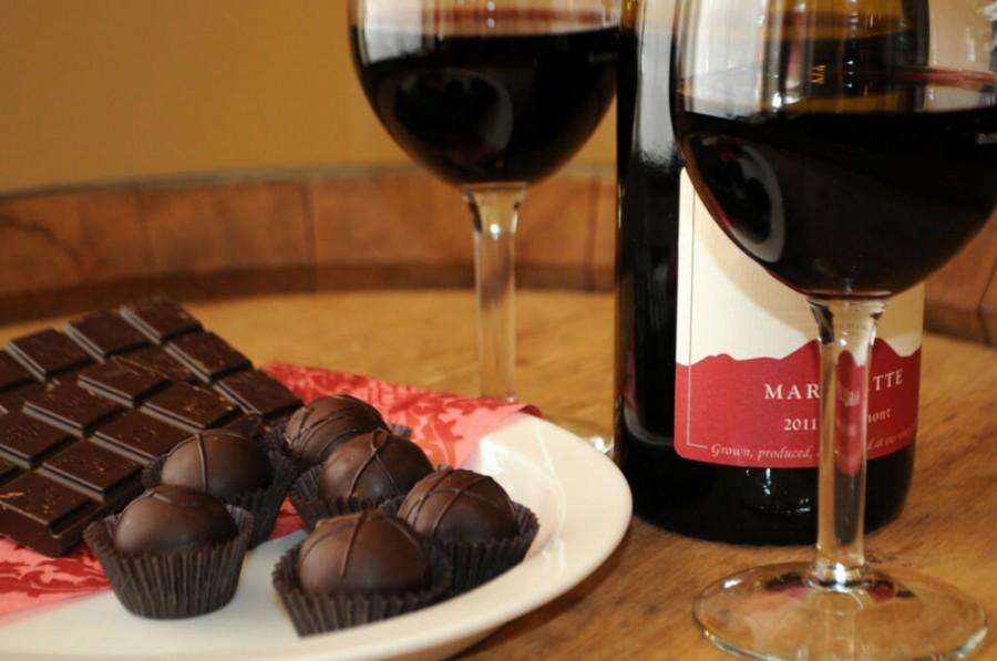 Хотите сохранить Вашу молодость? Пейте больше вина и ешьте больше шоколада