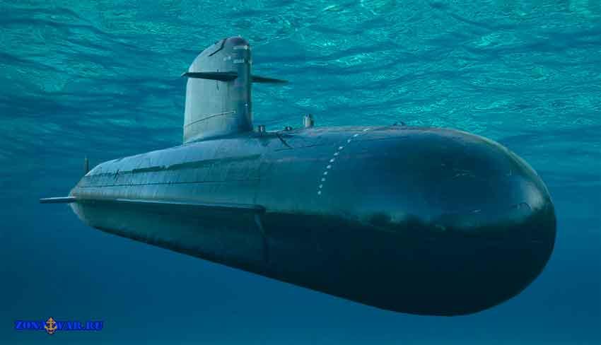 французская подводная лодка scorpene
