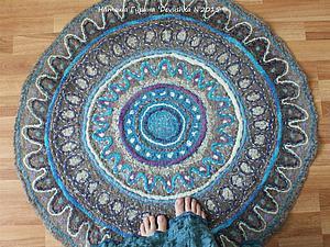 Как свалять уютный ковёр-ман…