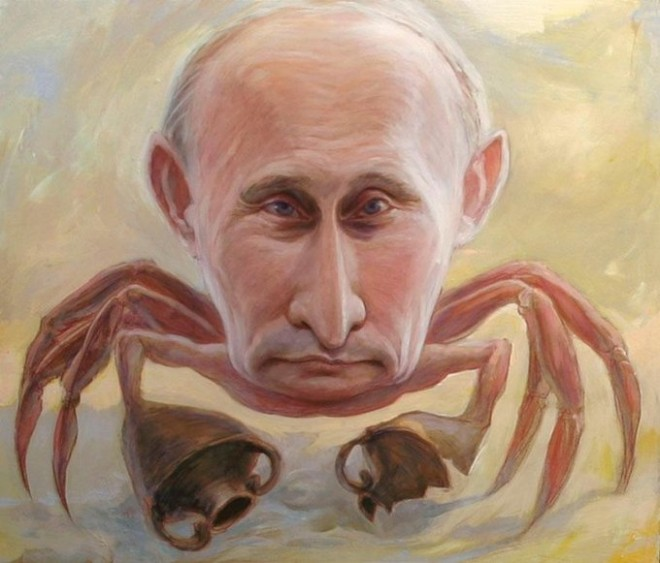 Почему Путин краб?