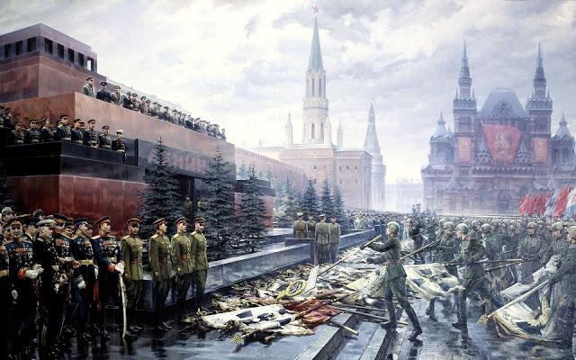 """Двенадцать лет """"Тысячелетнего рейха"""". Нацистская пропаганда vs Сто грамм с прицепом"""