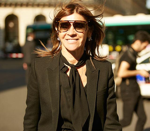 Неделя моды в Париже, весна-лето 2016: street style. Часть 1 (фото 17)