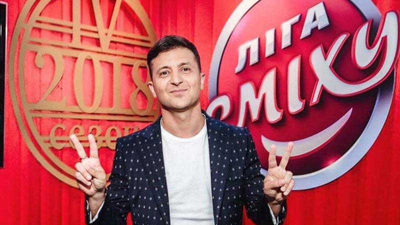 Зеленский парировал «атаку» Порошенко: рад существованию юмора на Украине