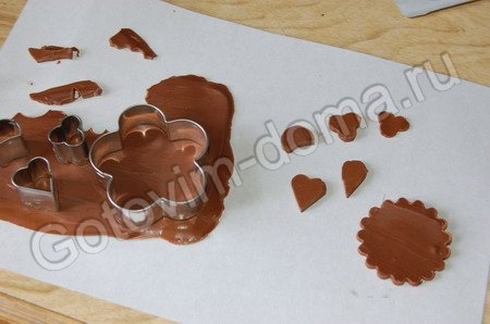 Как сделать шоколадную фигурку