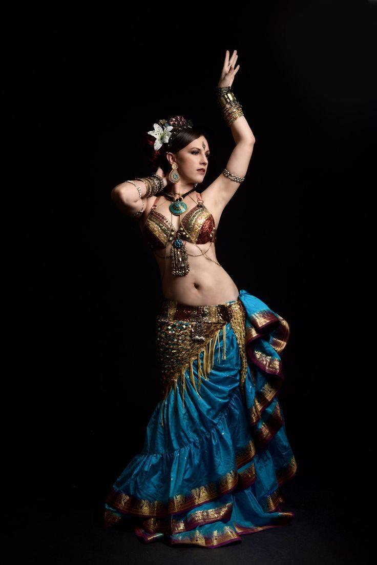 Прически для восточного танца