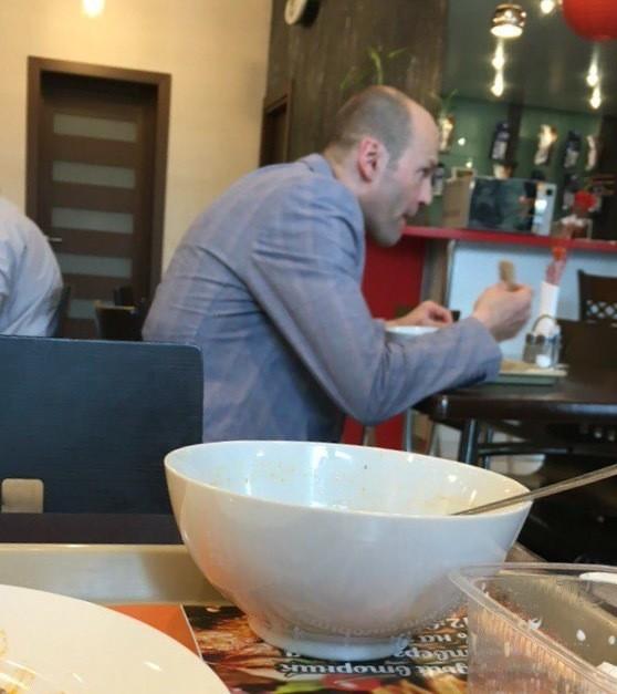 В наших столовых можно встретить даже голливудских звезд еда, прикол, столовая, юмор
