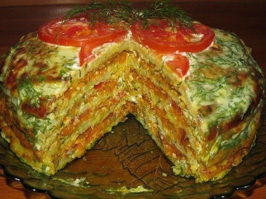 Сезон кабачков открыт — Вкуснейший тортик из кабачков!