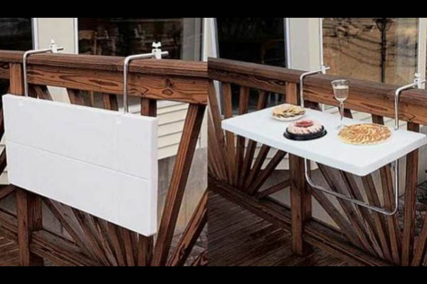 Раскладной столик для балкона
